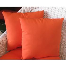 "Sunbrella Set of 2- 12"" Indoor/Outdoor Throw Pillows"