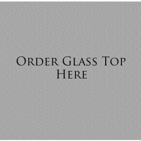 Glass Top Only Double  Kneehole Desk
