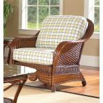 Casa Blanca Rattan Chair - MAHOGANY