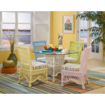 5 Piece Capri Wicker Dining Set  -