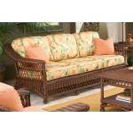 Sea Harbor Natural Wicker Sofa -