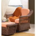 Sea Harbor Natural Wicker Glider Chair -
