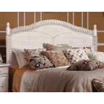 Montego Bay King Headboard - WHITEWASH