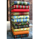 Wicker Replacement Chair Cushions With Ties -