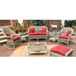 Sunbrella (3) Piece Belaire Replacement Cushion Set (Larger) -