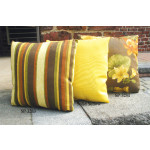 Set of (2)- 12 Indoor/Outdoor Throw Pillows -