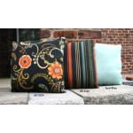 Set of (2)- 15 Indoor/Outdoor Throw Pillows -