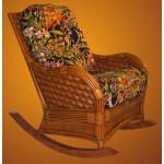 Rattan  Rocking Chair, Jamaica Style - CINNOMON