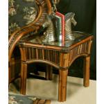Sanibel Natural Rattan End Table - COCOA