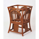 (5) Piece Manchester Rattan Dining Set with Casters (3) Colors - BASE