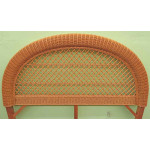 Arch  Full/Queen  Wicker Headboard -