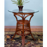 """3 Piece Trinidad Rattan Counter Height Dining Set 36"""" Top - SIENNA TABLE"""