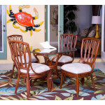 (5) Piece Trinidad Rattan Dining Set (lots of choices) - 4-SIDE-SIENNA
