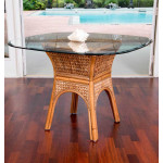 (5) Piece Bay Point Dining Set with Tilt/Swivel Castered Dining Chairs -