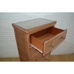 Augusta 5- Drawer Dresser with Glass Top (W + WW --Here 11/10/21 - DRAWER, DETAIL