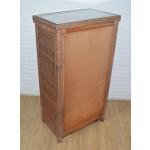 Augusta 5- Drawer Dresser with Glass Top (W + WW --Here 11/10/21 - REAR