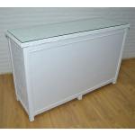 Augusta 6- Drawer Dresser with Glass Top ( W + WW Here 11/10/21 - REAR VIEW