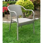 Resin Wicker Bistro Chair, Min 2 - DRIFTWOOD