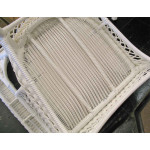 Madrid Resin Wicker Loveseat with Cushion - CHAIR BOTTOM