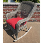 Belair Resin Wicker Rockers  - DRIFTWOOD
