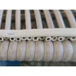 Basketweave Outdoor Resin Wicker Ottoman  -