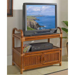 Delta TV Cart with Cabinet -