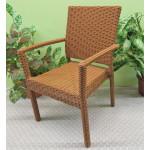 Caribbean Dining Arm Chair & Cushion, Min. 2 - GOLDEN HONEY