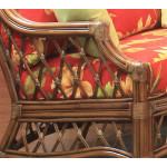 Bordeaux Natural Rattan Lounge Chair  - CINNAMON