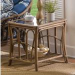 Bimini Rattan End Table (Custom Finishes) -