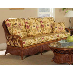 Eastwind Natural Rattan Sofa (Custom Finishes Available) -