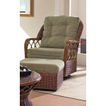 Eastwind Natural Rattan Glider Chair (Custom Finishes Available) -