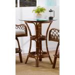 Grand Isle Rattan Bar Height Dining Table -