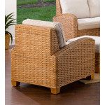 Millennial Natural Rattan Lounge Chair (Custom Finishes Available) -