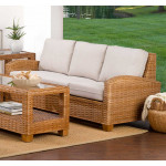 Millennial Natural Rattan Sofa (Custom Finishes Available) -