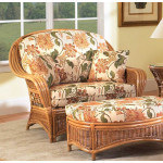 Mountain View Rattan Chair-N-Half with Cushions (Custom Finishes Available) -