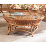 Mountain View Round Rattan Cocktail Table (Custom Finishes) -
