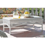 Old Nassau Wicker Cocktail Table (Custom Finishes) -