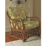 Orchard Park Natural Rattan Lounge Chair -