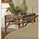 Orchard Park Rectangular Rattan End Table (Custom Finishes) -