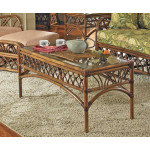 Orchard Park Rectangular Rattan Cocktail Table (Not Sold Alone) -