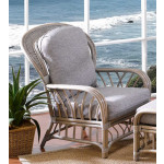 Oceanview Natural Rattan High Back Chair (Custom Finishes Available) -