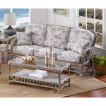 Oceanview Natural Rattan Sofa (Custom Finishes Available) -