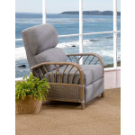 Oceanview Natural Rattan 3-Position Recliner  (Custom Finishes Available) -