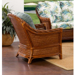 South Shore Natural Rattan Lounge Chair (Custom Finishes Available) -