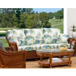 South Shore Natural Rattan Sofa (Custom Finishes Available) -