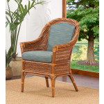 South Shore Natural Rattan Dining & Accent Chair (Custom Finishes Available) -