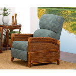 South Shore Natural Rattan 3-Position Recliner  (Custom Finishes Available) -