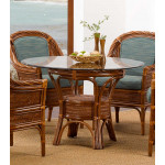 South Shore Rattan Round Dining Tables -