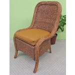 """3 Piece Catalina Rattan Dining Set 36"""" - Side Chair"""
