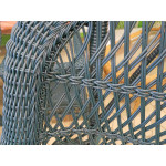 Madrid Resin Wicker Rocking Chairs, Hunter Green -